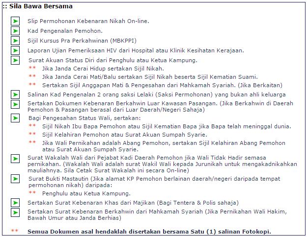 50 Daftar Borang Nikah Online Johor Borang Johor Online Daftar Nikah
