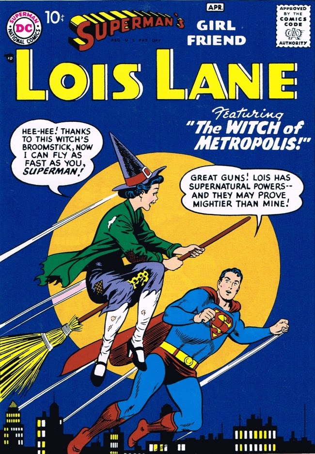 Superman's Girlfriend Lois Lane: The Witch of Metropolis Cover