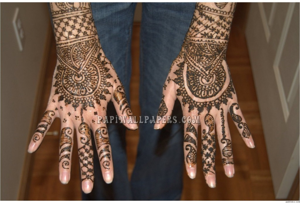 Images Of Henna Mehndi : World of entertainment latest beautiful mehndi designs