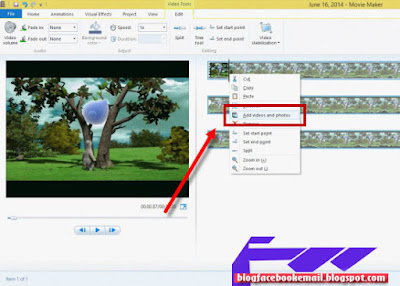 cara membuat video menggunakan movie maker