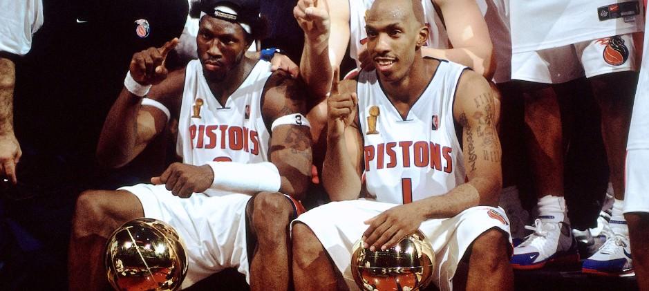 Detroit Pistons 2004 NBA Champions