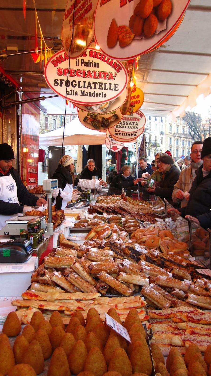 Eat pray liz markets of milan for Milan food market