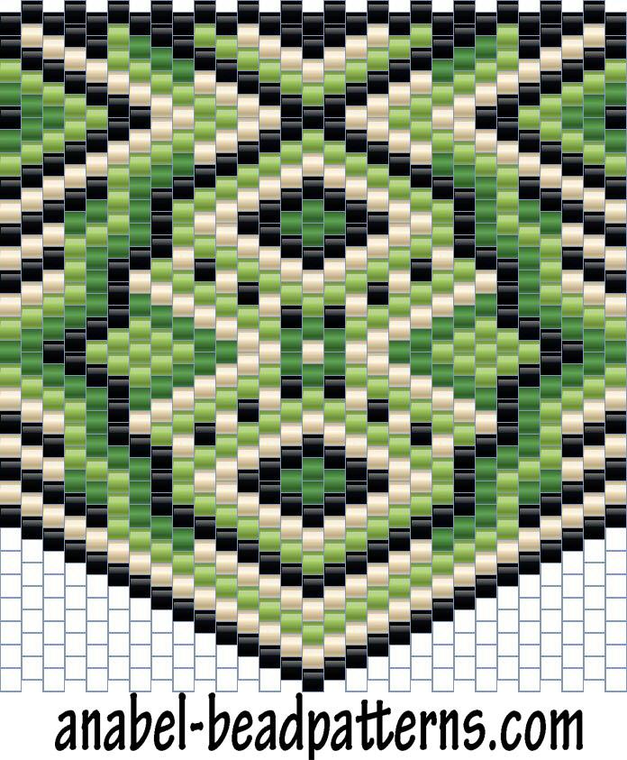 схемы бисероплетение мозаичное
