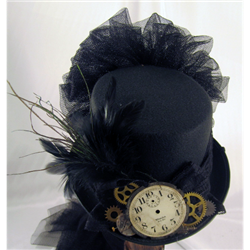 Steampunk Clock Tophat