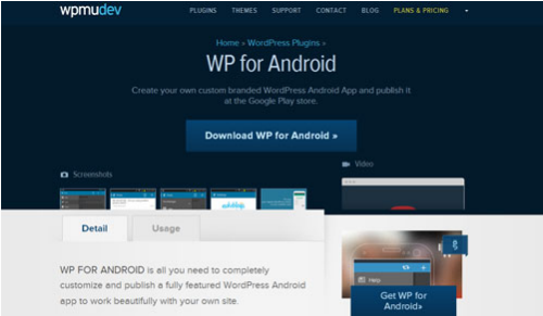WordPress Android Plugin v1.0.3