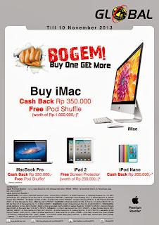 Buy One Get More Promo iMac, iPad, iPod & MacBook