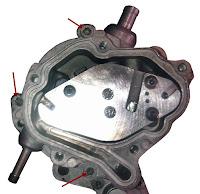 Vista interna de la bomba Tándem en motores del Grupo VAG