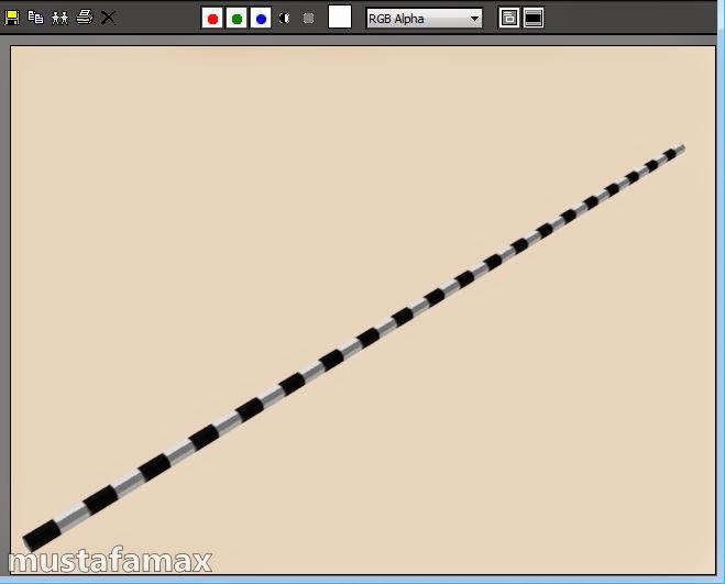 كيفية عمل رصيف شارع وأكسائه في 3d max بأحترافية