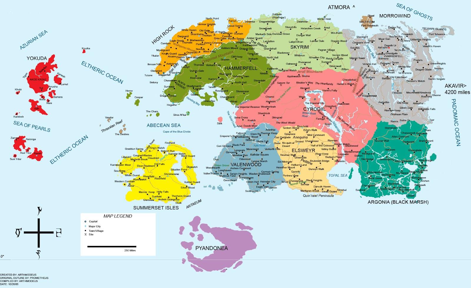 Gua de the elder scrolls v skyrim mapas mapa de tamriel gumiabroncs Image collections