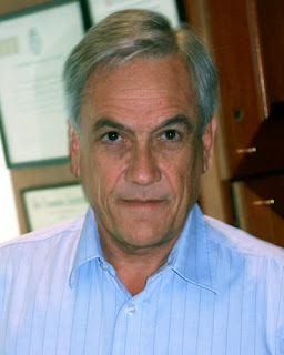 Rostro de Sebastián Piñera