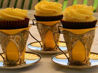 Tea cup cupcakes