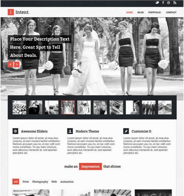 35 Free Latest PSD Website Templates