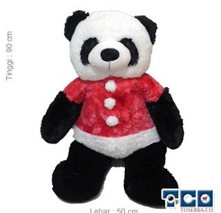 Gambar Boneka Panda Kancing