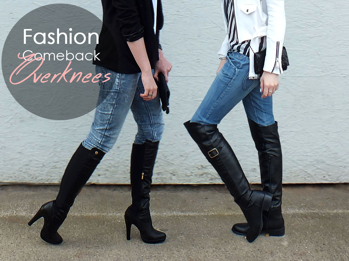 FASHION COMEBACK: OVERKNEES