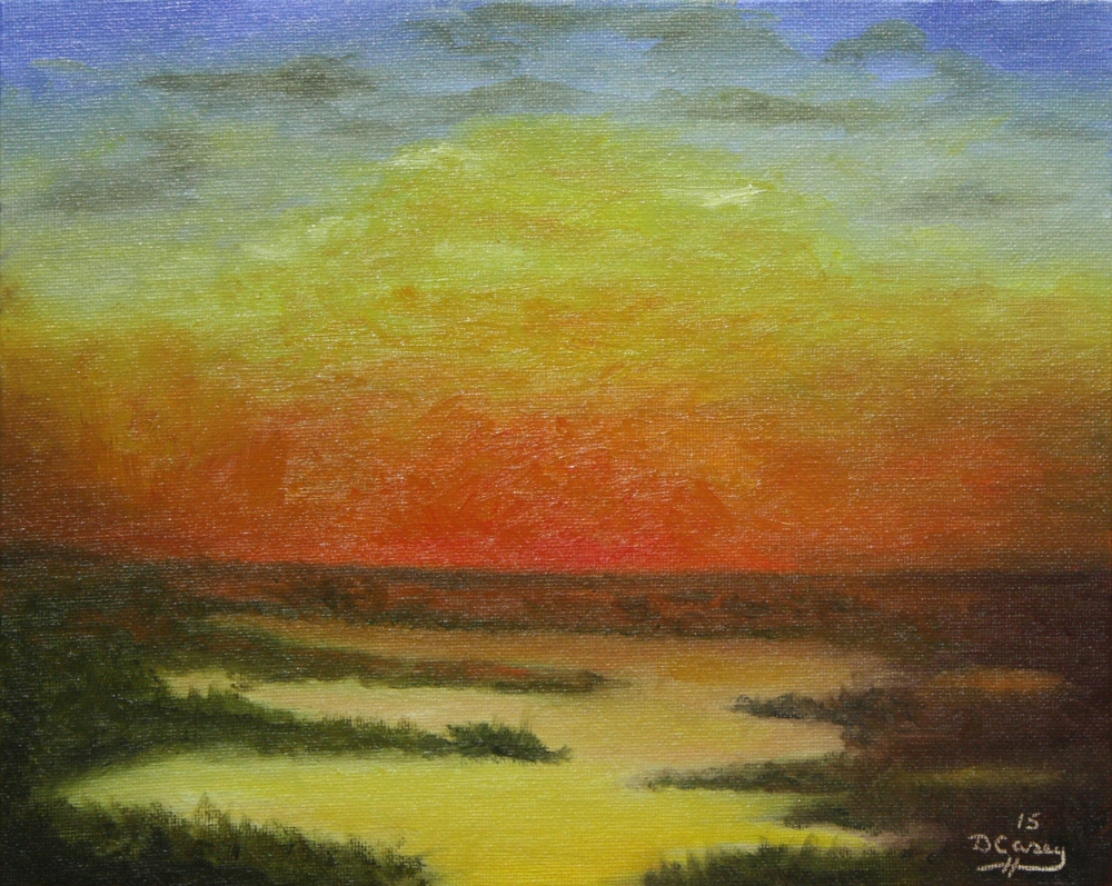 150222 - Sunset 001a 8x10 oil on canvas panel - Dave Casey - TheDailyPainter.jpg