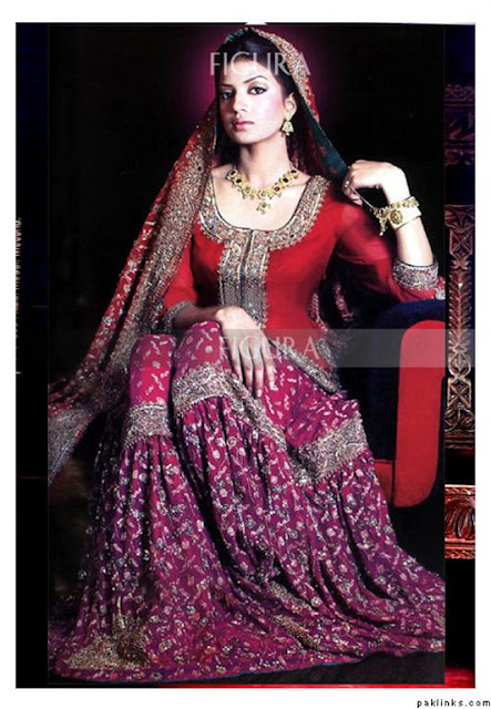 Bridal Wedding Sharara Trend
