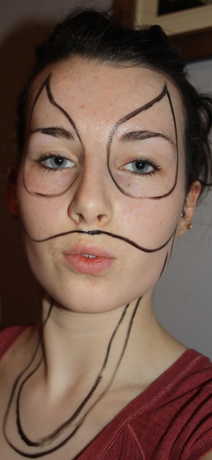 Face paint tutorial venom collegetimes advertisement baditri Images