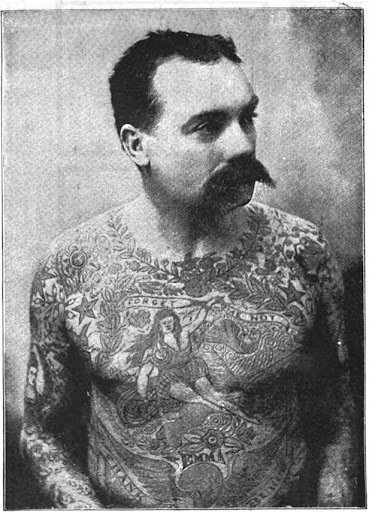 Funny And Dry Pictures Jokes 19th Century Tattoos