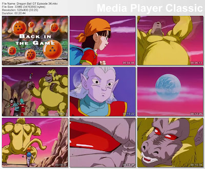 Download Film / Anime Dragon Ball GT Episode 34 Bahasa Indonesia