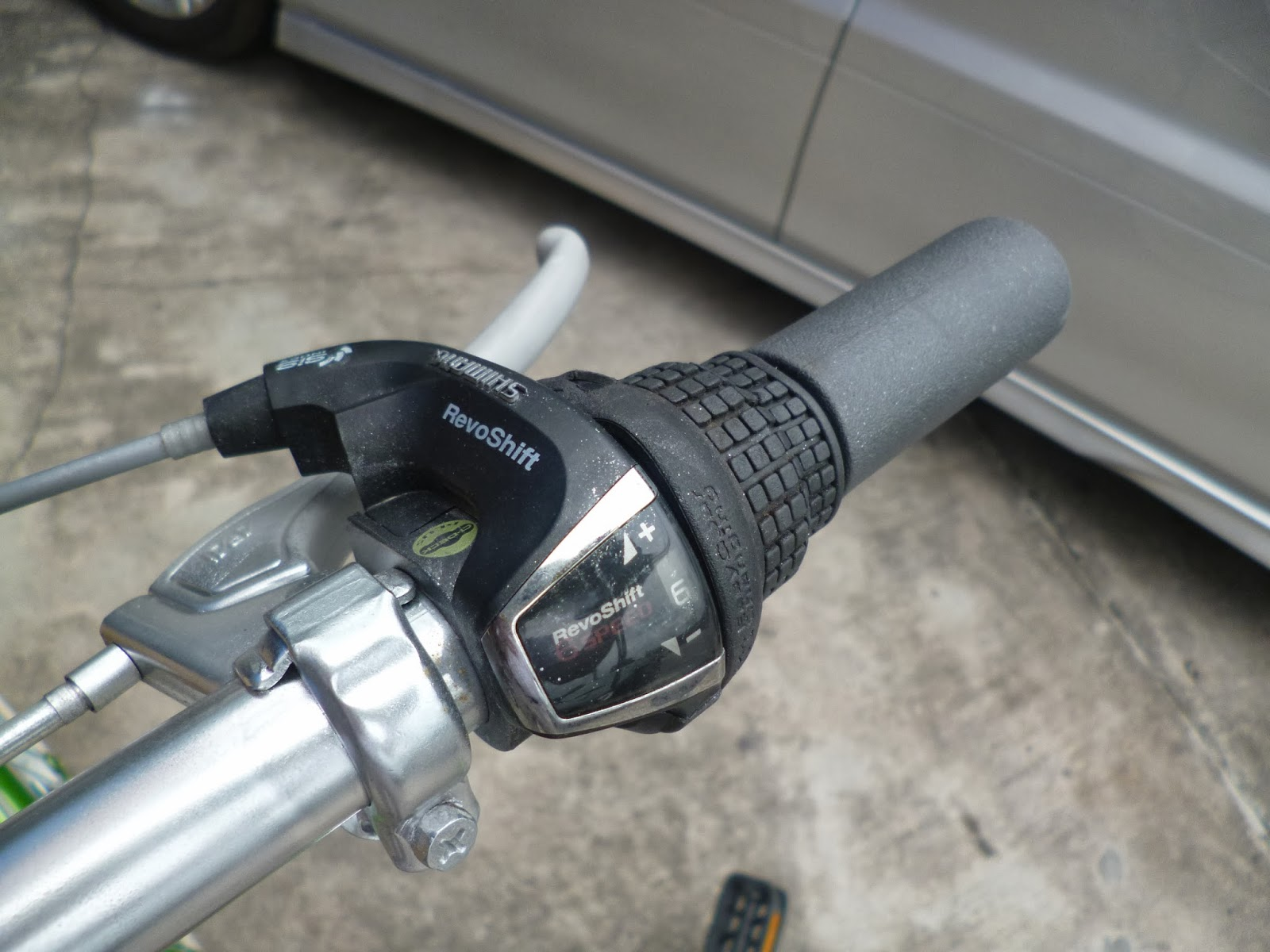 shimano revoshift 6 speed manual