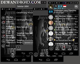 BBM Mod Theme Klub Bola Terpopular 2.8.0.210 Versi Terbaru Mantap