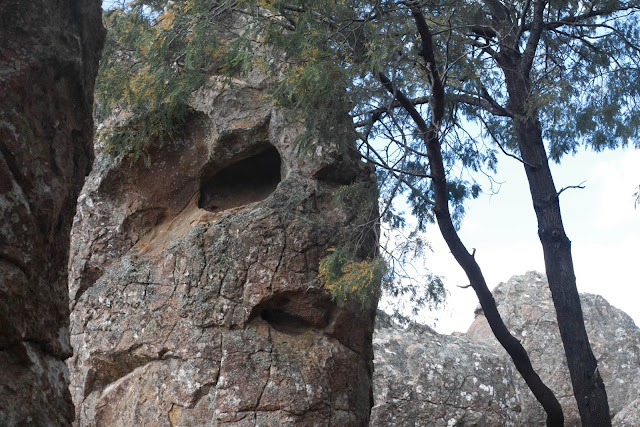 face like rock at hanging rock