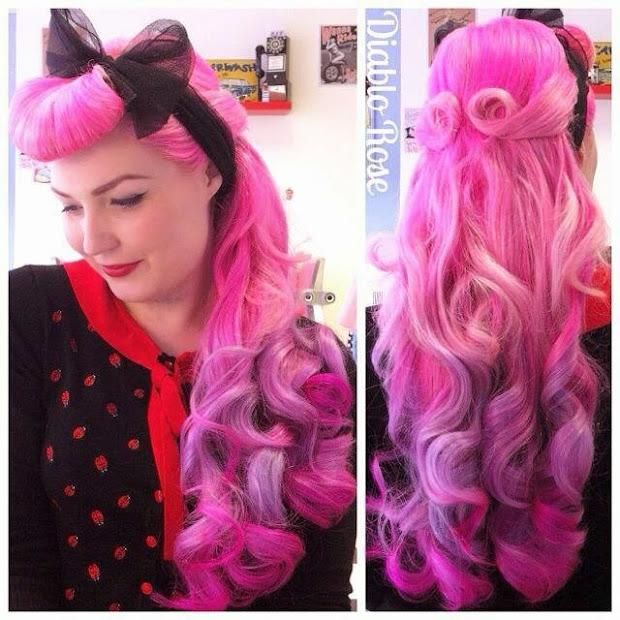 diablo rose long hair