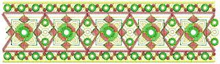 Saree Borders Embroidery Designs