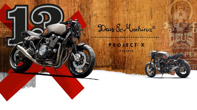 Yamaha XJR1300 'Project X' | Deus Ex Machina Italy | Yamaha XJR1300 custom | Yamaha Yard Built Special | way2speed.com