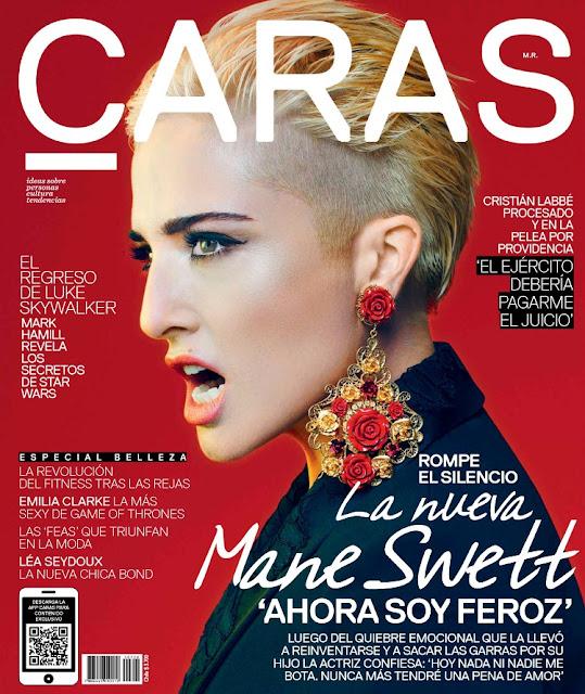 Actress @ María Elena Swett - Caras Chile, November 2015