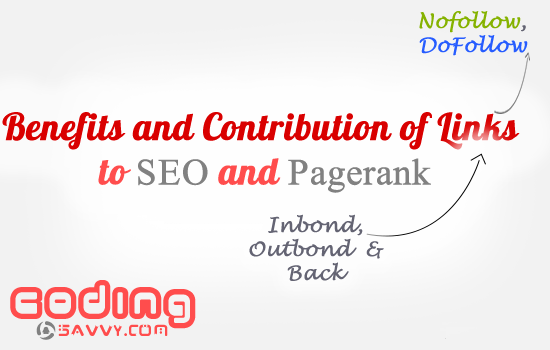Benefits and Contribution of links to Pagerank and SEO