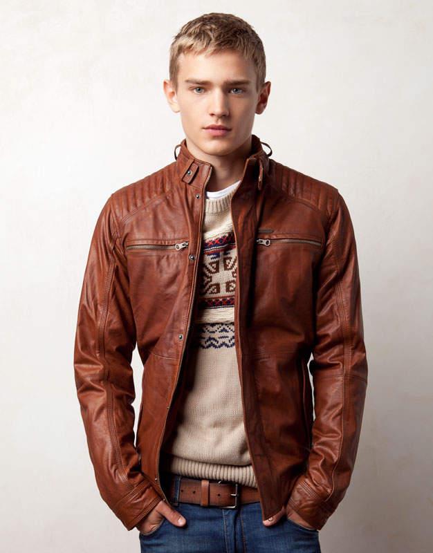 Кожаные Куртки Модные Мужские