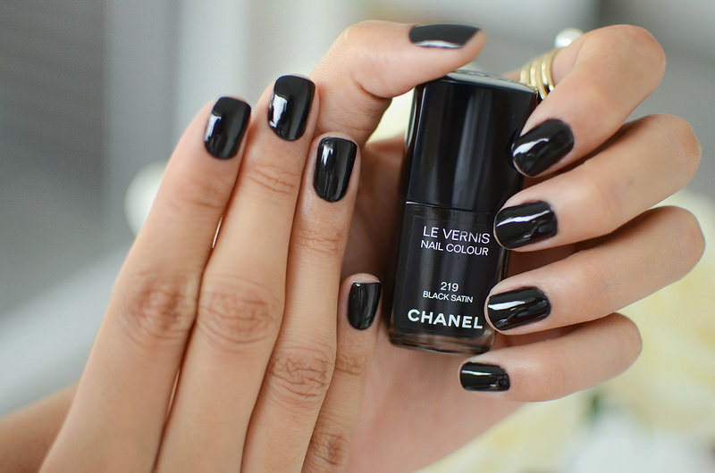 Nailpolish Black Satin By Chanel