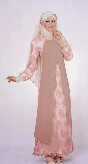 Contoh Model Gaun Muslim Glamour
