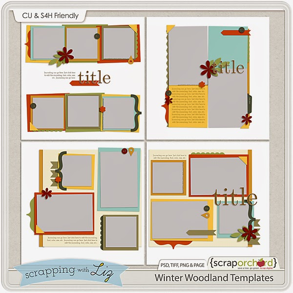 http://scraporchard.com/market/Winter-Woodland-Digital-Scrapbook-Templates.html
