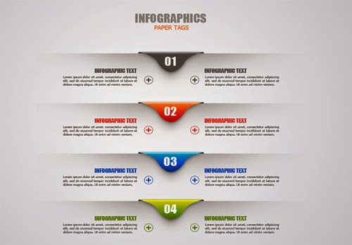 Video Tutorial Paper Tags Infographic