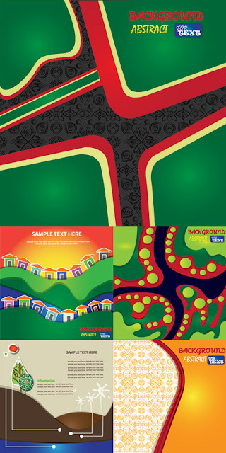 Creative Abstract Vector Backgrounds
