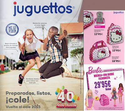 Catalogo Juguettos Vuelta al Cole 2015