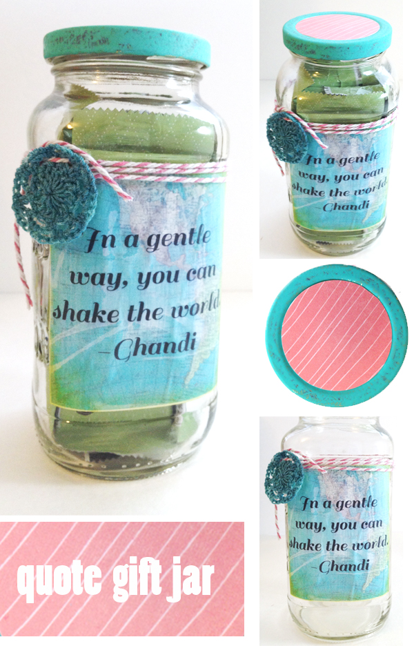 recommend you Mod Podge your label prior to sticking it on the jar ...