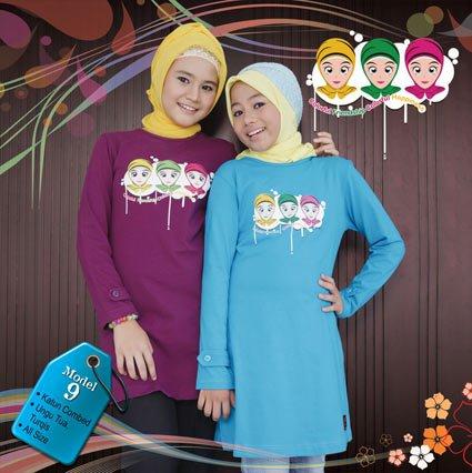 Baju Muslimah Anak Qirani QT-09