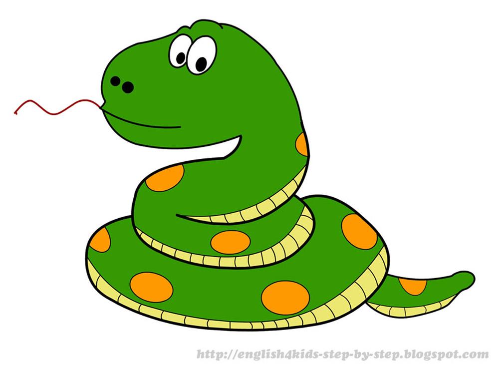 Cute Snake Clipart Cartoon snake clip art