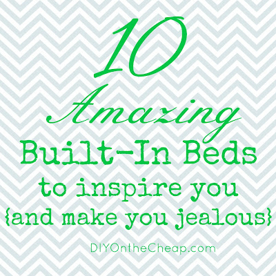 10 Amazing Built-In Beds {to inspire you and make you jealous}