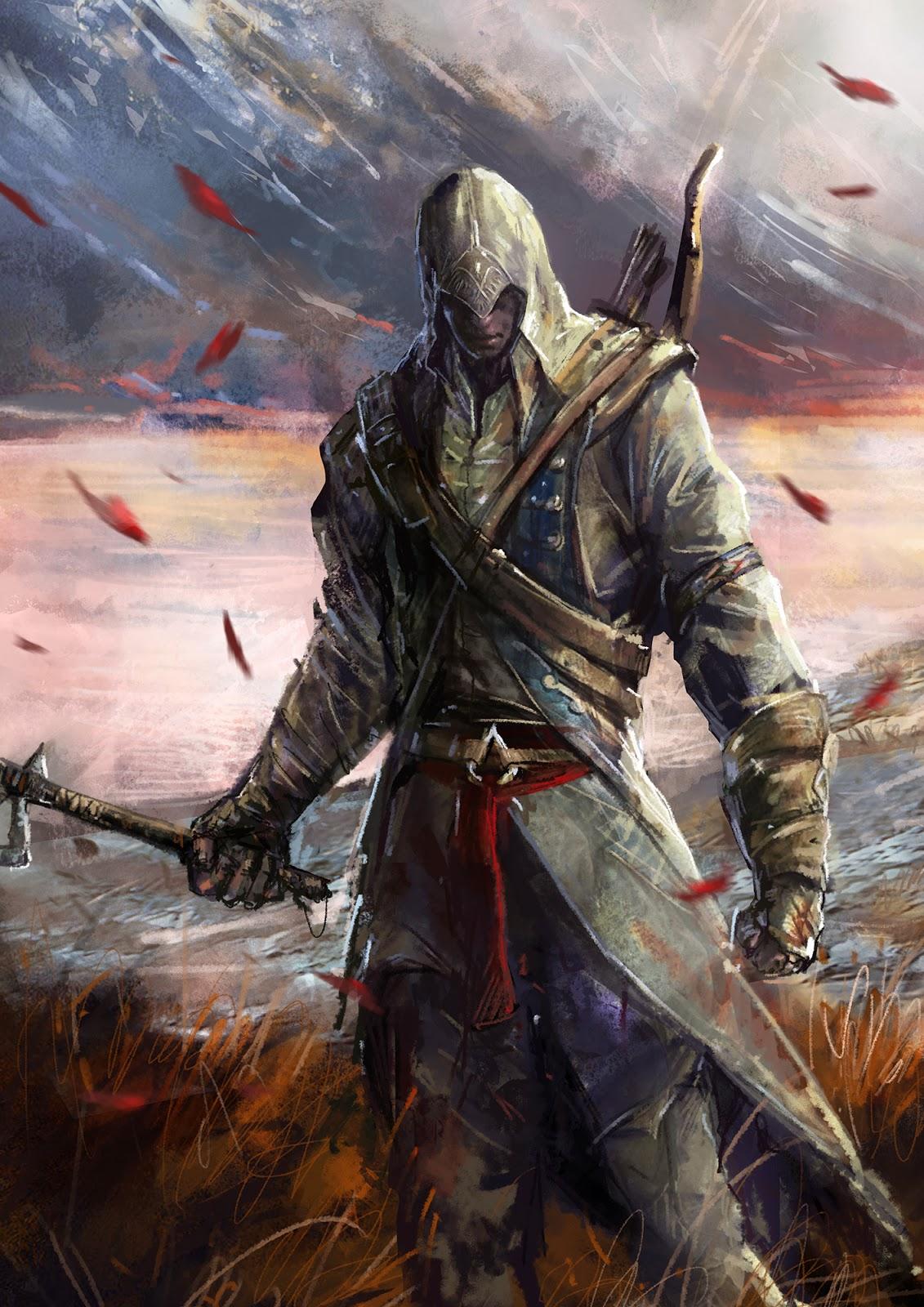 ArtStation - Assassins Creed Identity Characters, Andi Drude
