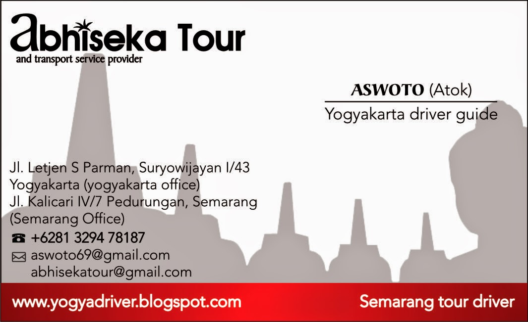 yogyakarta guide driver