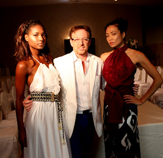 Samy Gicherman presenting his  Resort 2014 Collection in Miami Beach