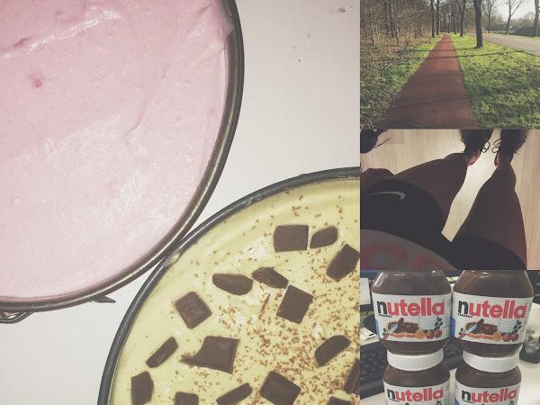Life as Chelsey #11 - laatste stage week, sporten, taart, (heel veel) Nutella!