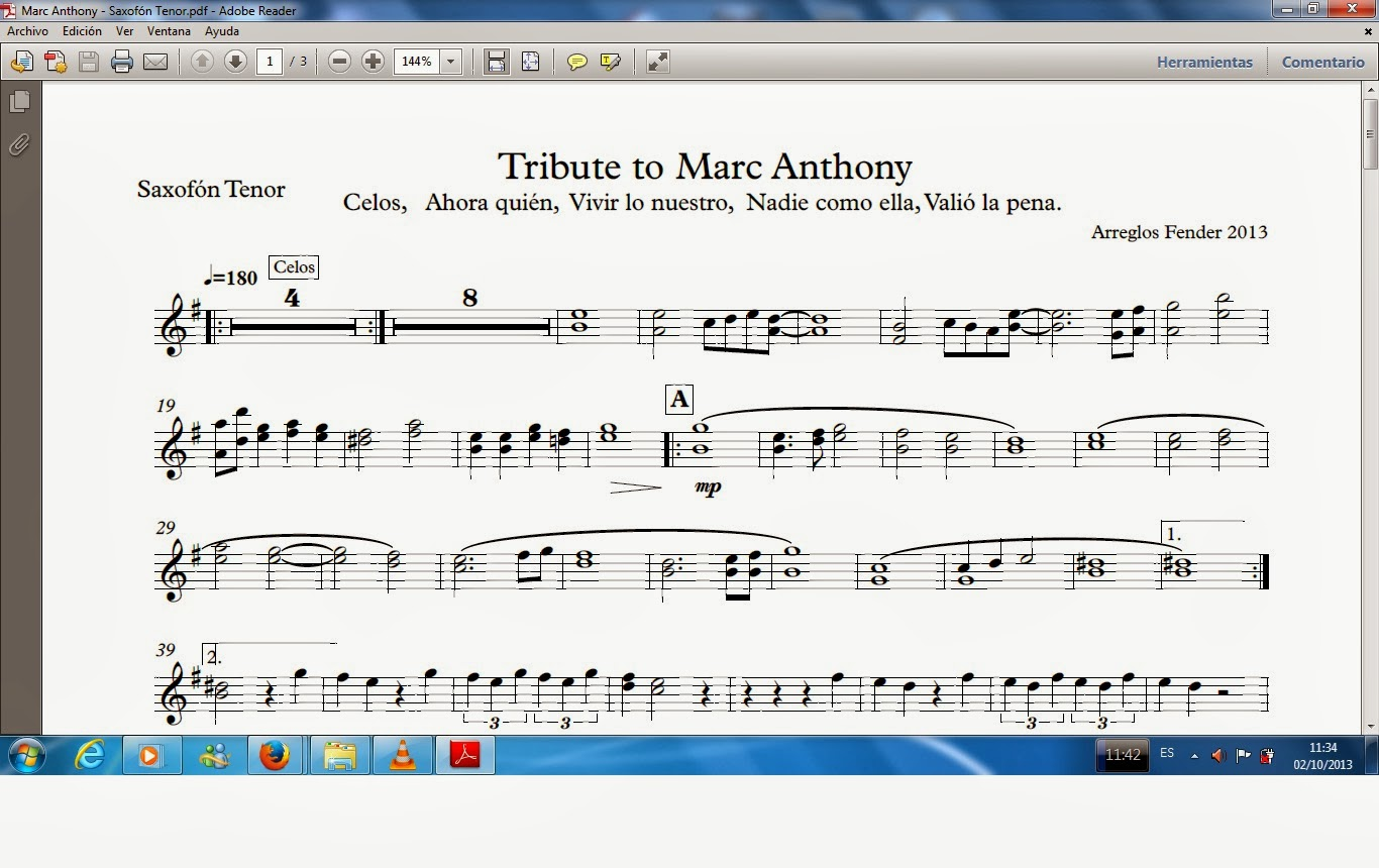 Tribute to Marc Anthony