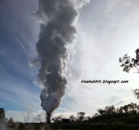 Ini adalah uap air (steam), ini bukan asap!