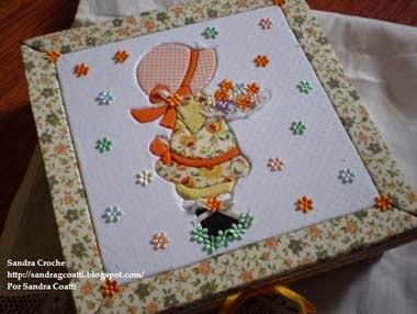 artesanato patchwork no isopor passo a passo