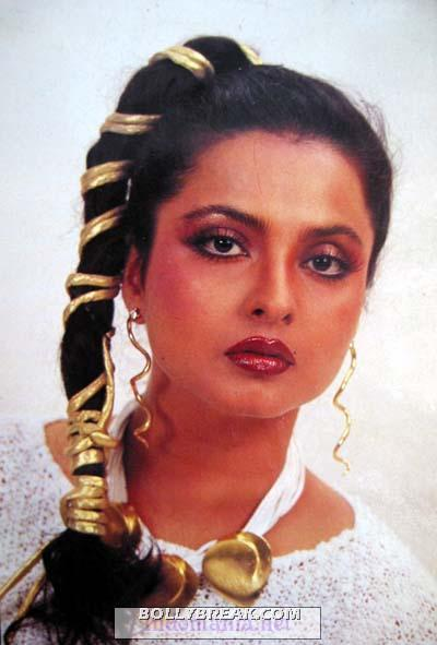 Rekha style 1970's  - (9) - Rekha Hot Pics - 1980's 1970's Rekha Photo Gallery